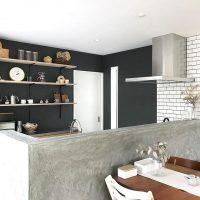I型キッチンのレイアウト実例。おしゃれで使いやすい収納や空間作りをご提案