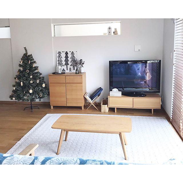 家具と合わせて統一感のある空間に