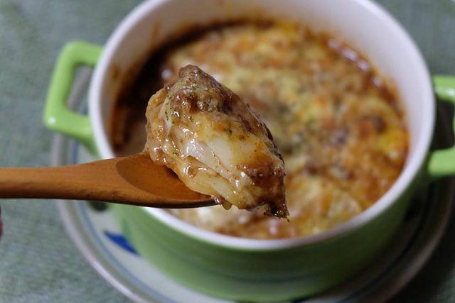 アツアツ♪ポテトのラザニア風重ね焼きレシピ