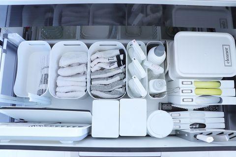 キッチン整理ボックス収納