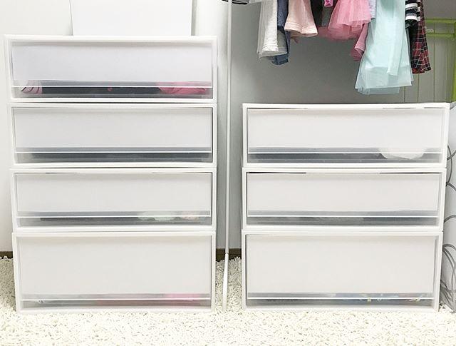 子供服収納の衣装ケース活用術