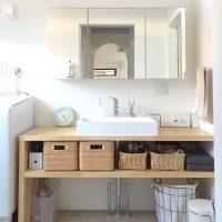 洗面台下の収納はニトリで改善!どこに何があるか一目瞭然な整理整頓アイデア