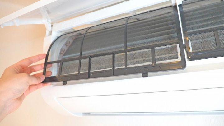 エアコンのカビ汚れを取る掃除方法