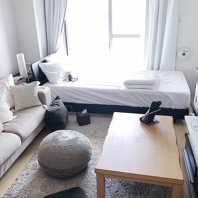 コの字型の家具配置