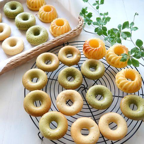 ヘルシーレシピ!豆腐焼きドーナツ