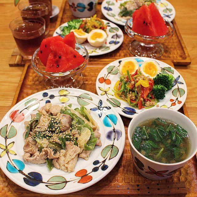 オイスターソース炒めの酢醤油卵のせレシピ