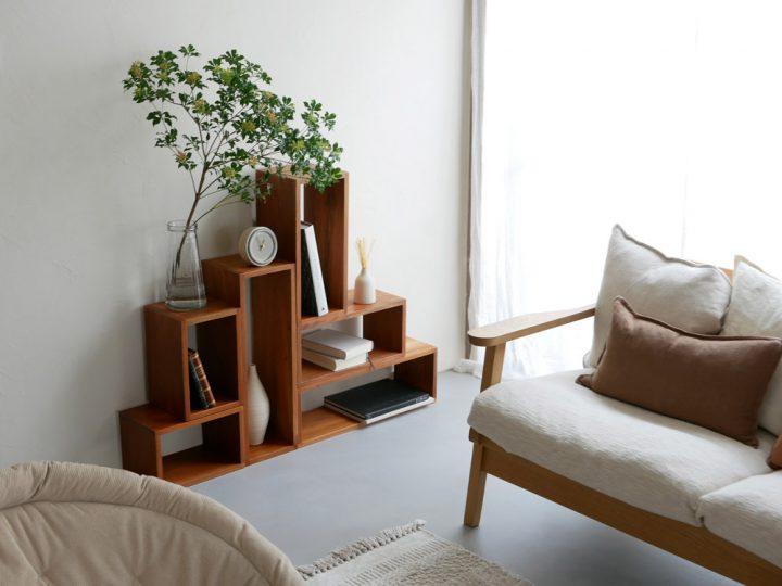 サイドテーブル、そして飾り棚にも