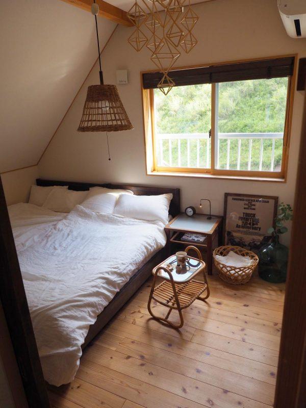 ナチュラルテイストの寝室
