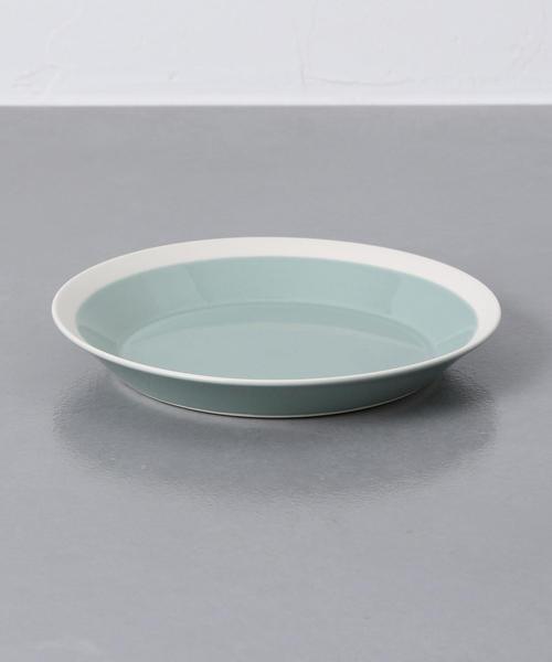 デザートが映えるライムカラーのおすすめ皿