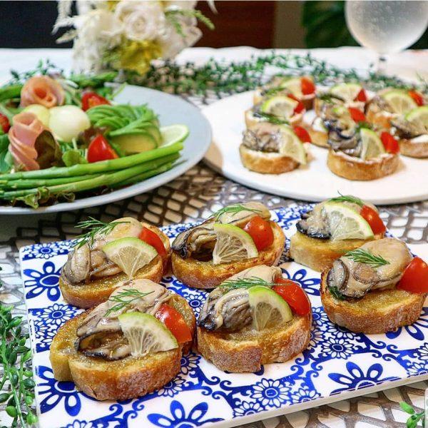 おしゃれで簡単♪牡蠣のブルスケッタレシピ