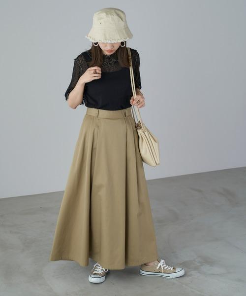 【Chaco closet】ロングフレアスカート