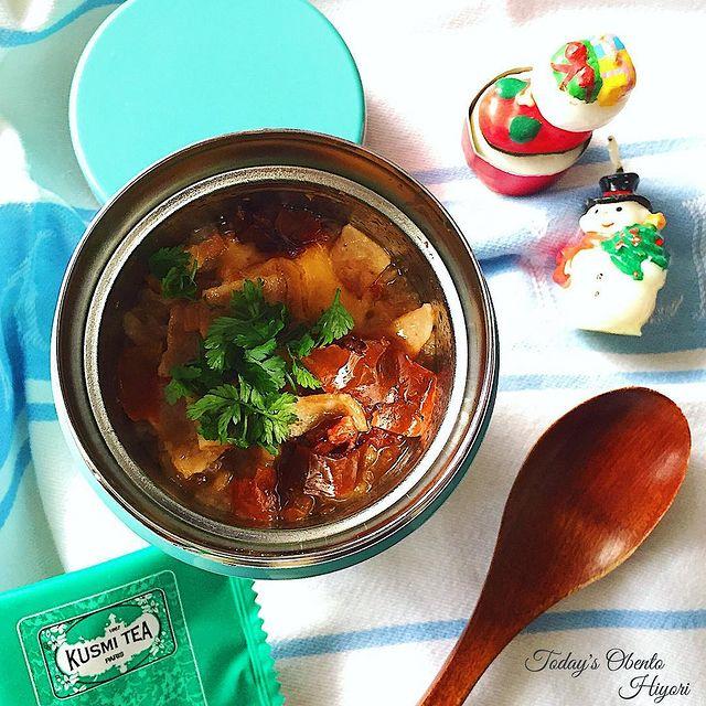 手軽に作れるスープジャーのトマトリゾット