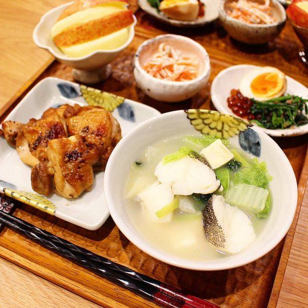 あっさり幼児食献立で食べやすい簡単鱈なべ