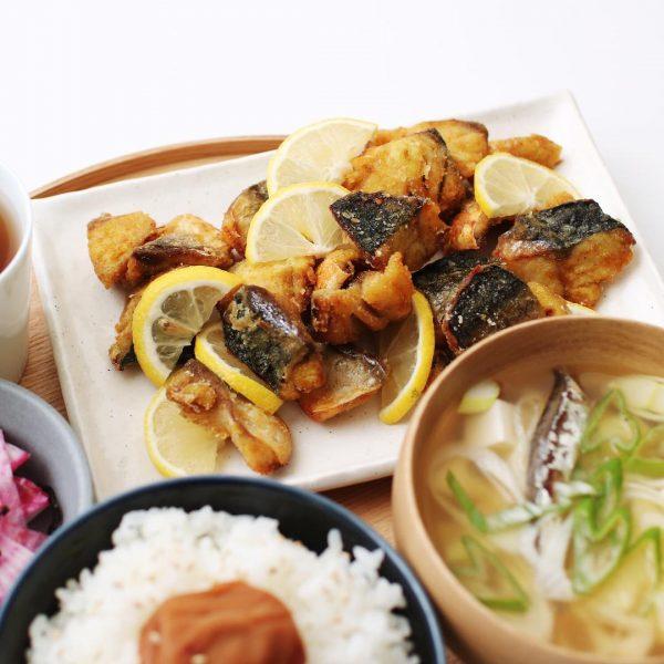 ご飯に合う魚料理!鯖のカレー粉竜田揚げ