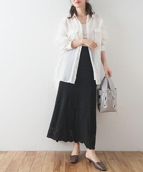[Futierland&SASA] シアーBIGシャツ