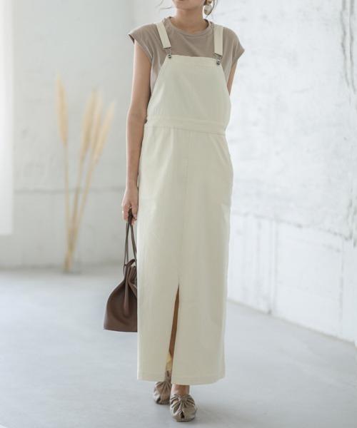 ロングジャンパースカート