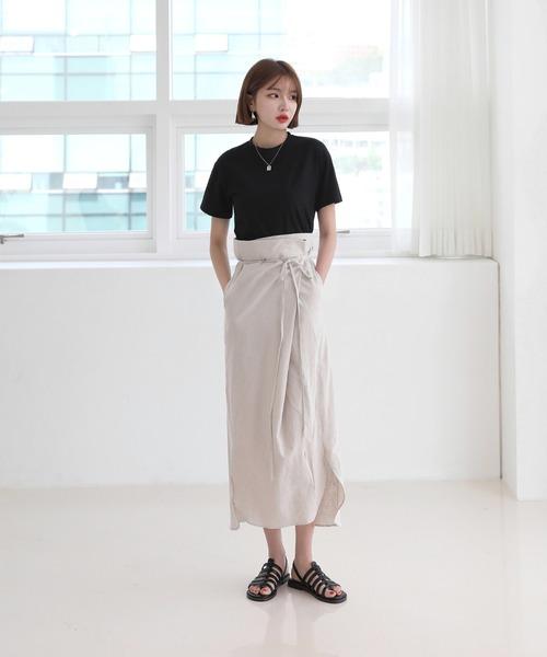 デイリームード ベーシック 半袖クロップTシャツ/ショート丈カットソー