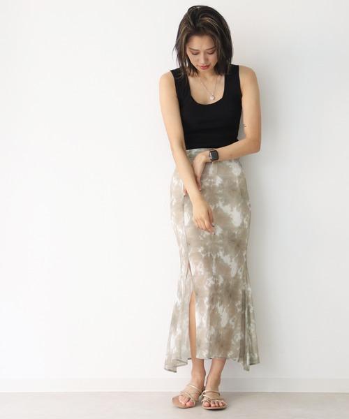 タイダイメッシュマーメイドスカート