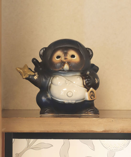 [BEAMS MEN] BEAMS JAPAN / 別注 信楽焼 手裏剣 忍者 たぬき