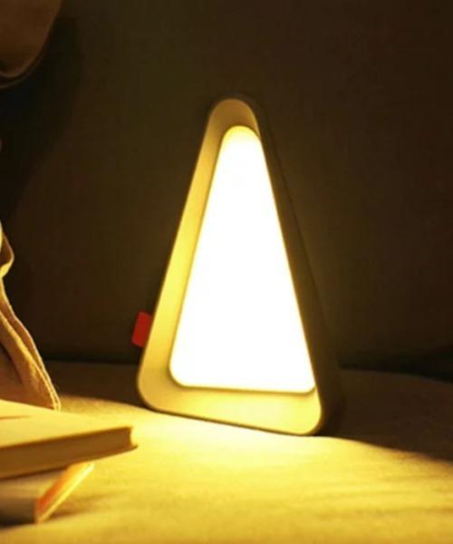 [entre square] bcl/トライアングル Flip ランプ ストーングレー