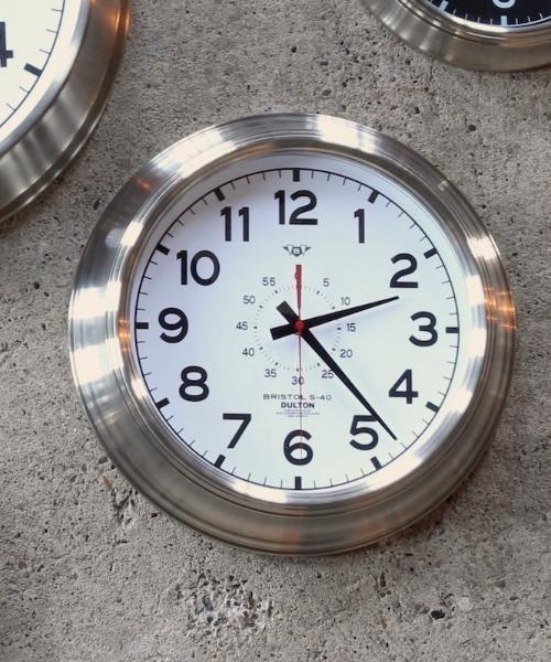 [TIMELESS COMFORT] 【DULTON】WALL CLOCK ''BRISTOL S-40''