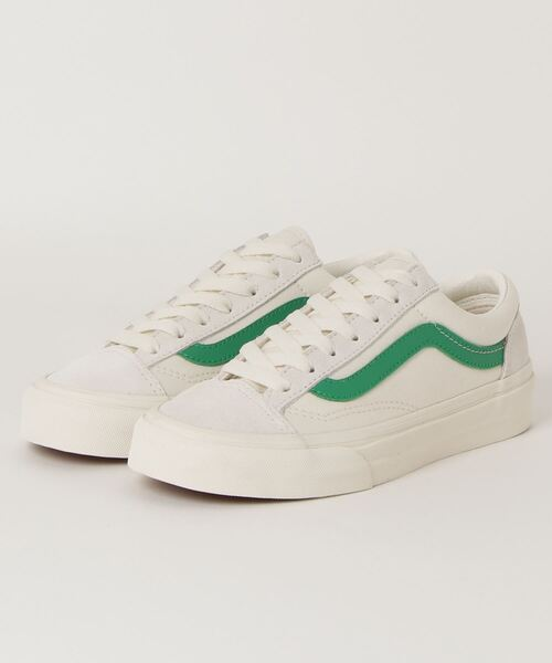 [ABC-MART GRAND STAGE] VANS ヴァンズ STYLE 36 スタイル36 VN0A3DZ3RFX MARSHMALLOW/GRN