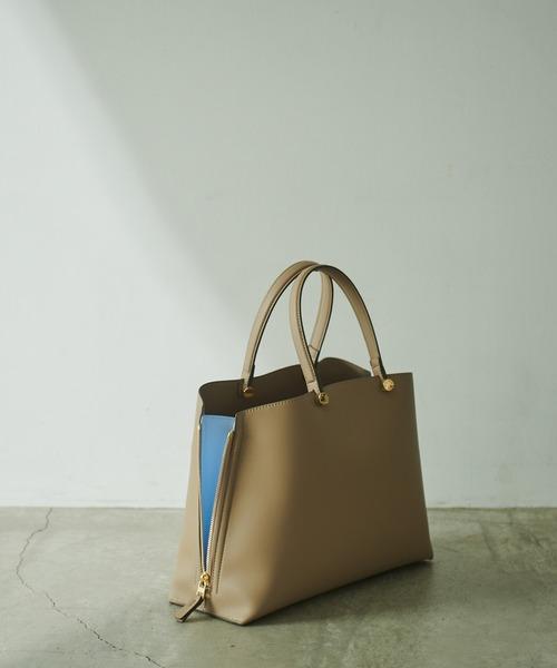 Y bag Medium (サイドジップトートバッグ)