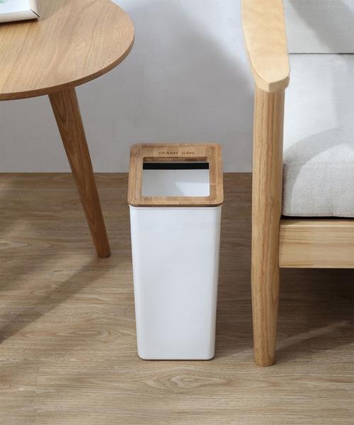 [aimoha] ゴミ袋がすっきり収まるゴミ箱
