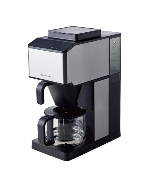 淹れたてのコーヒーがワンタッチでできるメーカー