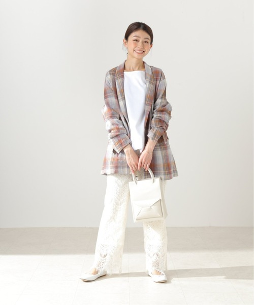 [IENA] 【PENDLETON/ペンドルトン】 Shawl Collar ジャケット【洗濯機洗い可】