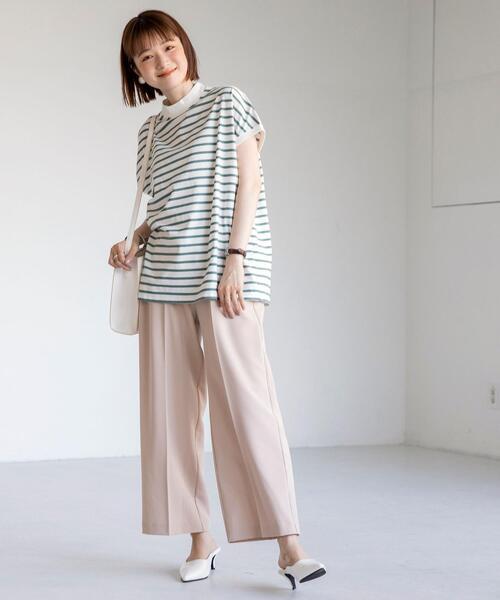 【coen】ハイネックTシャツ