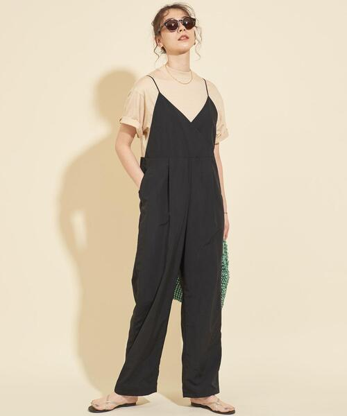 [BEAUTY&YOUTH UNITED ARROWS] 【WEB限定】by ※∴ナイロンウェザーキャミサロペット -ウォッシャブル-