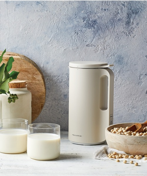 自宅で豆乳が手作りできる話題の家電