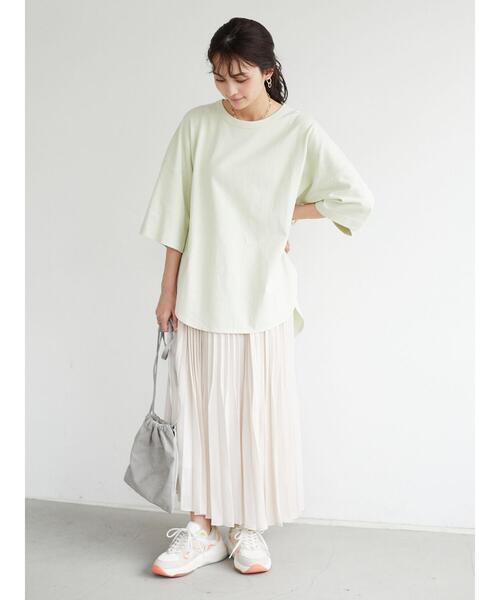 グラデュアリープリーツスカート