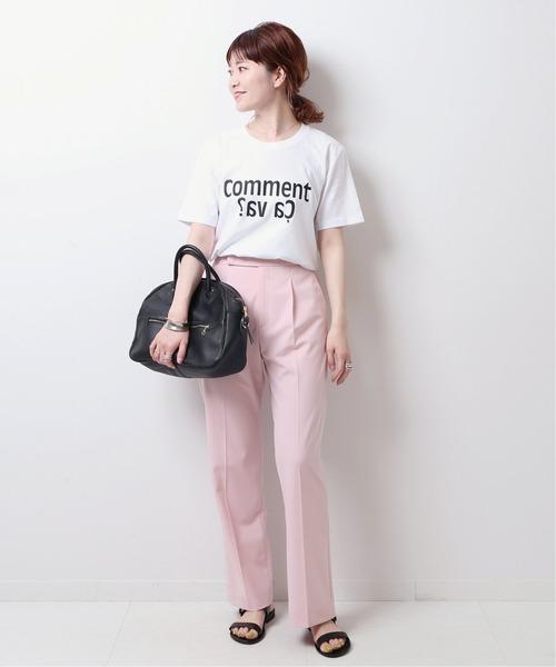 [Spick & Span] 【Les Petits Basics】Tシャツ (ca va ?)◆