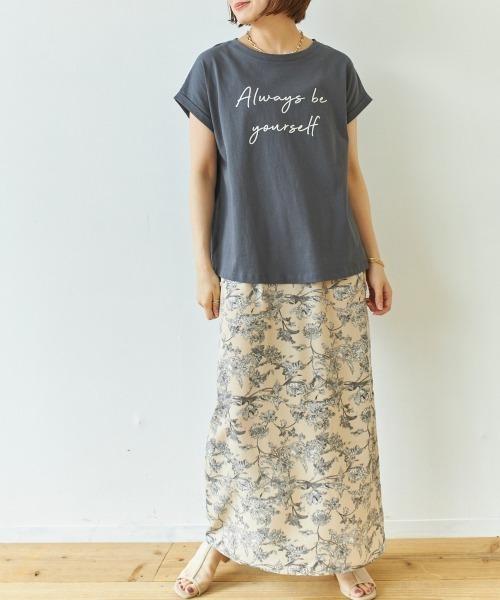 [AIC.] メッセージロゴTシャツ