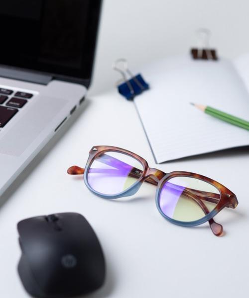 [MARK'S] RS eyeshop アールエス・アイショップ ブルーライトカットメガネ PCメガネ(約45%カット)度なし <1141ABRC1>