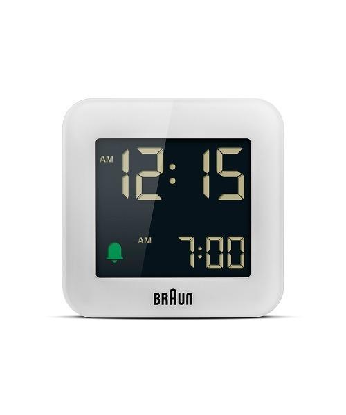 [NORDIC Feeling] BRAUN Digital Alarm Clock BC08W