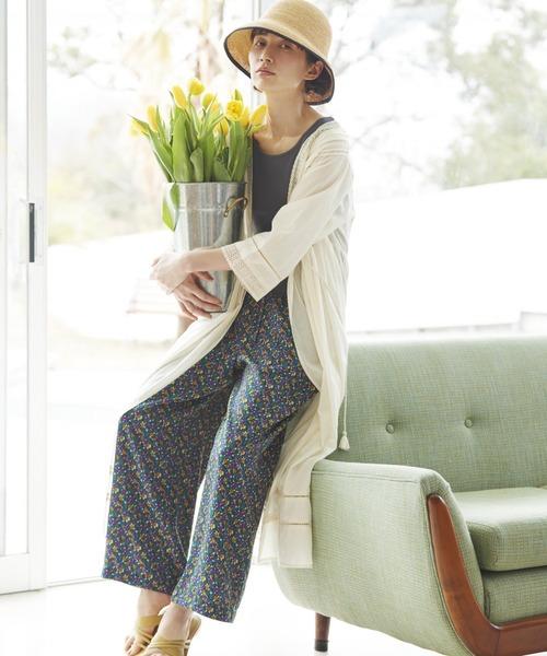 [studio CLIP] 【kazumiさんコラボ】世界のトリップ・クローゼットパンツセット