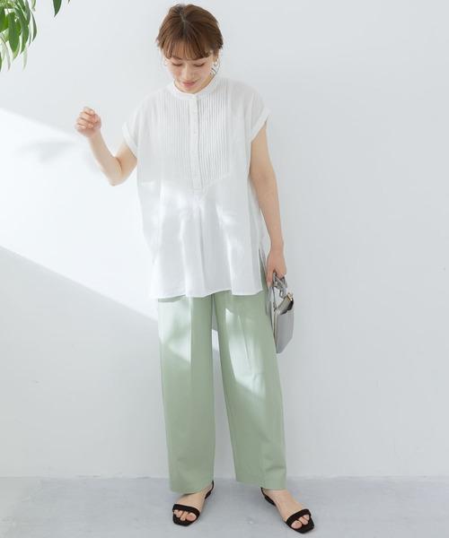 [URBAN RESEARCH Sonny Label] エアリーコットンピンタックドレスシャツ