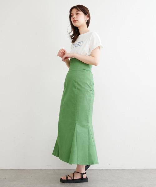 【natural couture】ハイウエストマーメイドスカート
