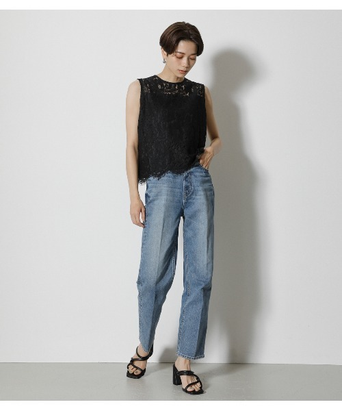 [AZUL BY MOUSSY] SCALLOP LACE TOPS/スカロップレーストップス15
