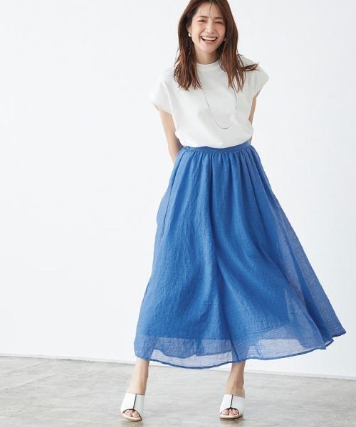 [Pierrot] 楊柳ギャザースカート