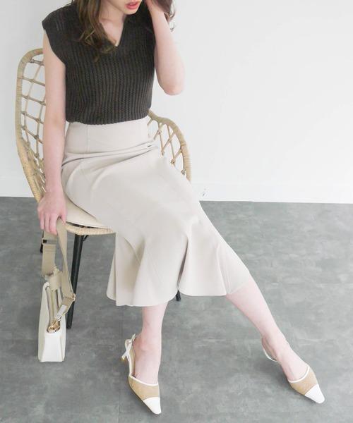 [LIPSERVICE] ランダムヘムマーメイドスカート