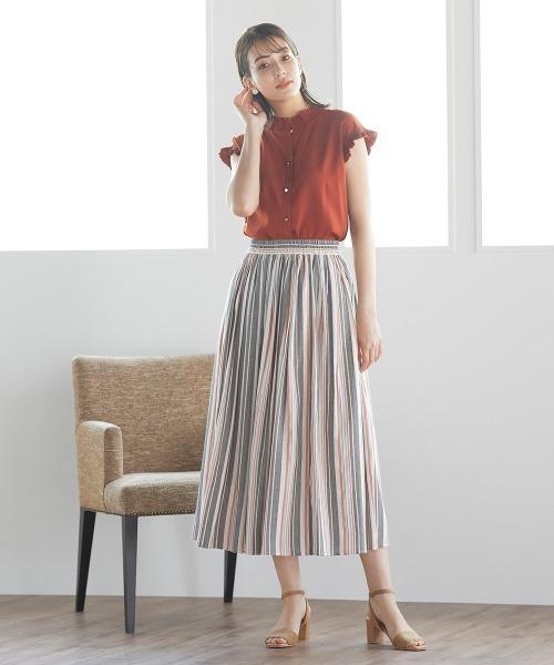 [ketty online store] マルチストライプフレアスカート