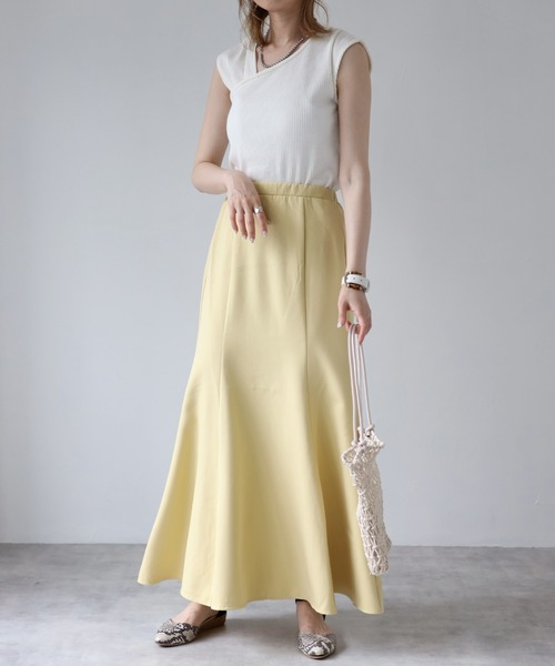 [Bonjour Sagan] マーメイドスカート
