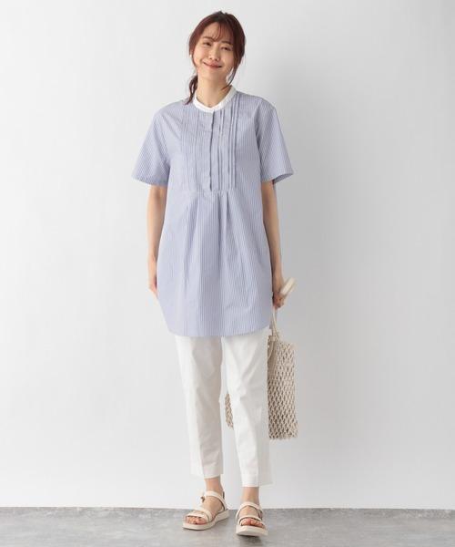 ボザムチュニックシャツ半袖/950370