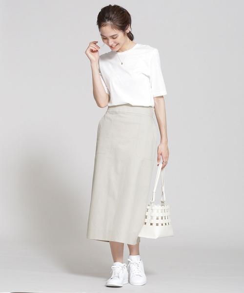 白スニーカーの夏コーデ《スカート》3