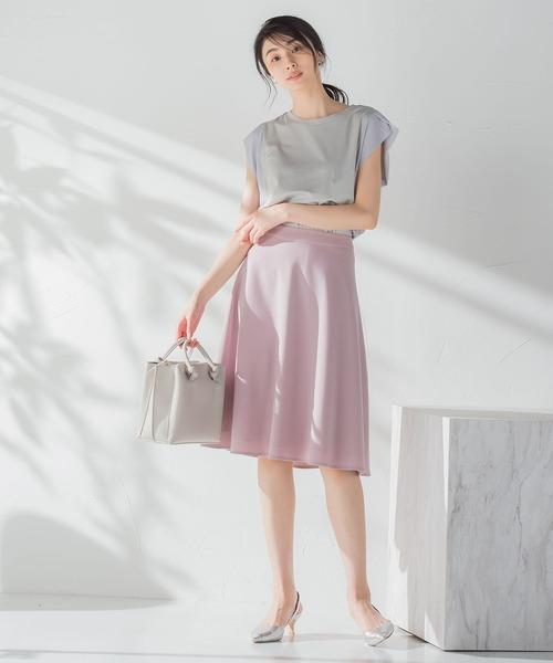 ketty online store 美シルエットフレアスカート