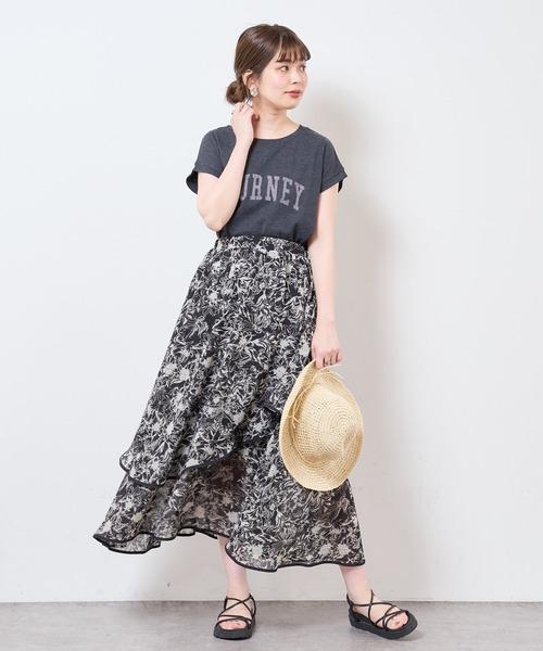 [natural couture] 【サスティナブル素材】カレッジエコノースリーブ